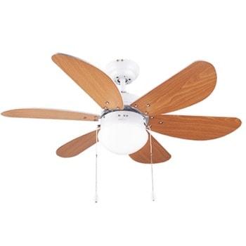 Вентилатор Cecotec ForceSilence Aero 360, за таван, 3 скорости, Aeroblades система, технология ForceSilence, AirFlow Advance, 50 W, кафяво-бял image
