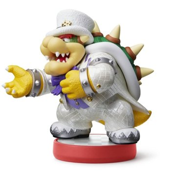 Фигура Nintendo Amiibo - Bowser (Super Mario Odyssey), за Nintendo 3DS/2DS, Wii U, Switch image