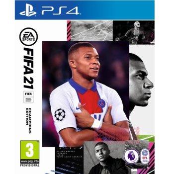 Игра за конзола FIFA 21 Champions Edition, за PS4 image