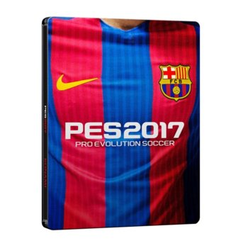 Игра за конзола Pro Evolution Soccer 2017 FC Barcelona Edition, за PS4 image