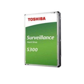"""Твърд диск 6TB Toshiba S300, SATA 6Gb/s, 7200 rpm, 256MB, 3.5"""" (8.89cm), Bulk image"""
