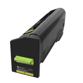 Касета за Lexmark CX860de / CX860dte / CX860dtfe - Yellow - P№ 82K2UY0 - заб.: 55 000k image