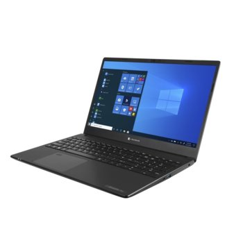 "Лаптоп Dynabook Toshiba Satellite Pro L50-G-1CQ (PBS10E-00E006G6), шестядрен Comet Lake Intel Core i7-10710U 1.1/4.7 GHz, 15.6"" (39.62 cm) Full HD Anti-Glare Display, (HDMI), 8GB DDR4, 512GB SSD, 1TB HDD, USB 3.1 Type-C, Free DOS image"