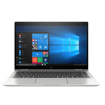 "Лаптоп HP EliteBook x360 1040 G6 (7KN79EA)(сребрист), четириядрен Whiskey Lake Intel Core i7-8565U 1.8/4.6 GHz, 14.0"" (35.56 cm) Full HD IPS Touchscreen Display, (HDMI), 16GB DDR4, 512GB SSD, 2x Thunderbolt, Windows 10 Pro image"