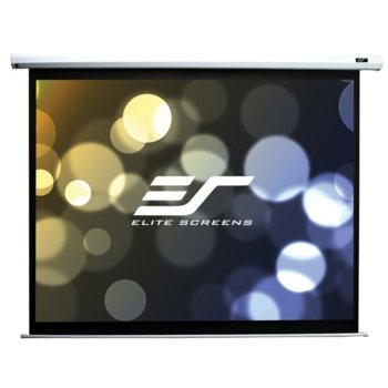"Екран Elite Screens Saker SK110XVW-E10, за стена, White, 2235 x 1676 мм, 110"" (279.4 cm), 4:3 image"