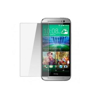 Протектор от закалено стъкло /Tempered Glass/ HTC за One M8, защита от UV лъчи image
