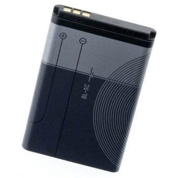 Батерия (заместител) за Nokia BL-5C, 1020mAh/3.7V image