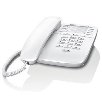 Стационарен телефон Gigaset DA510, 1 линия, бял image