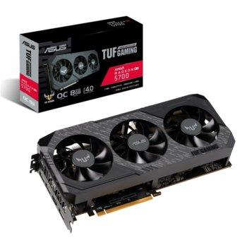 Видео карта AMD Radeon RX 5700, 8GB, Asus TUF Gaming X3 OC Edition, GDDR6, 256bit, Display Port, HDMI image