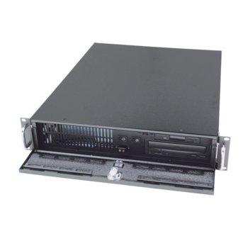 Кутия AIC RMC-2S-0-2, 2U rack mount, mini tower без захранване image