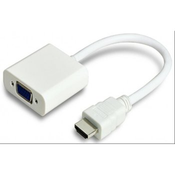 Преходник HDMI(м) към VGA (ж) image