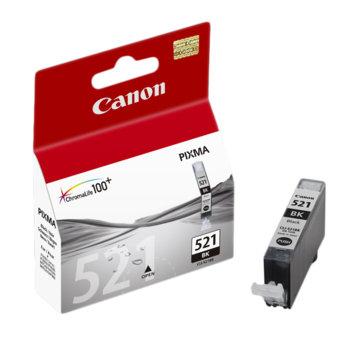 ГЛАВА CANON PIXMA iP 3600/4600/MP540/MP620/MP630/MP980 - Black ink tank - P№ 2933B001 /CLI-521B - заб.: 9ml. image