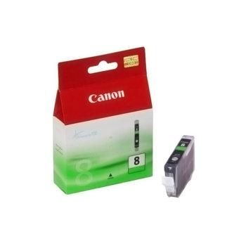 ГЛАВА CANON PIXMA iP 4200/5200/5200R/6600D/ MP 500/800 - Green ink tank - CLI-8G - заб.: 13ml. image