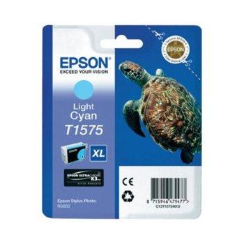 ГЛАВА ЗА EPSON STYLUS PHOTO R3000 - Light Cyan - P№ C13T15754010 - заб.: 25.9ml. image