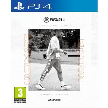 Игра за конзола FIFA 21 Ultimate Edition, за PS4 image