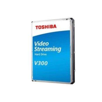 """Твърд диск 1TB Toshiba V300, SATA 6Gb/s, 7200 rpm, 64MB, 3.5"""" (8.89cm), Bulk image"""