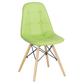 Трапезен стол Carmen 9962, ярко зелен image