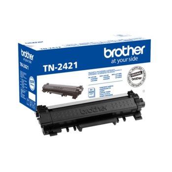 Касета за Brother DCP-L2512D/DCP-L2532DW/DCP-L2552DN/HL-L2312D/HL-L2352DW/HL-L2372DN/MFC-L2712DN/MFC-L2712DW/MFC-L2732DW - Black - P№ TN-2421 - заб.:3 000k image