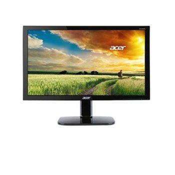 """Монитор Acer KA220HQbid, 21.5"""" (54.61 cm) TN панел, Full HD, 5ms, 100 000 000:1, 200 cd/m2, HDMI, DVI image"""