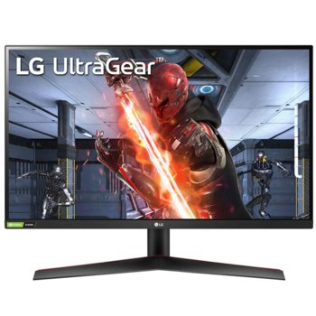 """Монитор LG UltraGear 27GN600-B с подарък слушалки MSI IMMERSE GH10, 27"""" (68.58 cm) IPS панел, 144Hz, HDR, FHD, 1ms, 350cd/m2, DisplayPort, HDMI image"""