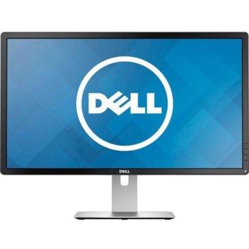 """Монитор Dell P2415Q (P2415Q-B), 23.8"""" (60.45 cm) IPS панел, 4K/UHD, 6ms, 2 000 000:1, 300cd/m2, miniDisplayPort, HDMI (MHL), 4-портов USB 3.0 хъб image"""