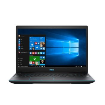 "Лаптоп Dell Inspiron G3 3590 (DI3590I59300H8G512G1650_UBU-14), четириядрен Coffee Lake Intel Core i5-9300H 2.4/4.1 GHz, 15.6"" (39.62 cm) Full HD Anti-Glare Display & GTX 1650 4GB, (HDMI), 8GB DDR4, 512GB SSD, 1x USB type C, Linux image"