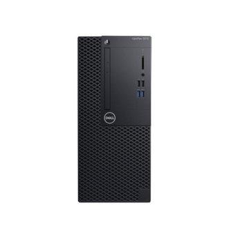 Настолен компютър Dell OptiPlex 3070 MT (DTO3070MTI34G1TU_UBU-14_8GB), четириядрен Coffee Lake Intel Core i3-9100 3.6/4.2 GHz, 8GB DDR4, 1TB HDD, 4x USB 3.1, Windows 10 Pro image