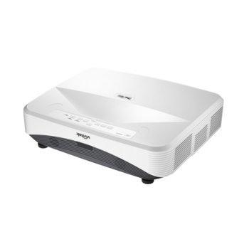 Проектор Vivitek DH765Z-UST, DLP, 3D Ready, Full HD (1920x1080), 12000:1, 4000 lm, 2x HDMI, VGA, 2x RJ-45, USB, бял image