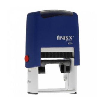 Автоматичен печат Traxx 9050 син, 42/26 mm, правоъгълен image