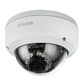 IP камера D-Link DCS-4602EV, куполна камера, 2 Mpix(1920x1080@30FPS), 2.8mm обектив, H.264/MJPEG, R осветеност (до 20 метра), външна, вандалоустойчива, PoE, Lan100 image