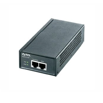 PoE инжектор ZyXEL PoE12-HP, 1x PoE, 1x 10/100/1000 LAN (RJ-45) image