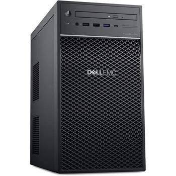 Сървър Dell PowerEdge T40, четириядрен Coffee Lake Intel Xeon E-2224 3.4/4.6 GHz, 8GB UDIMM, 1TB HDD, 1x 1GbE, 2x USB 3.1, без ОС image