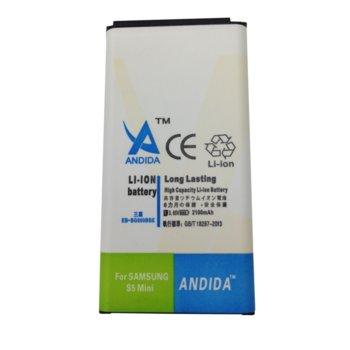 Батерия (заместител) Samsung Galaxy S5 mini, 2100mAh/3.85V image