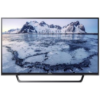 "Телевизор Sony KDL32WE615BAEP, 32"" (81.28 cm)1366x768 LED Smart TV, HD Ready,DVB-T, DVB-T2, DVB-S2, DVB-C, DVB-S, 2x HDMI, VGA, SCART, LAN, Wi-Fi, 2x USB image"