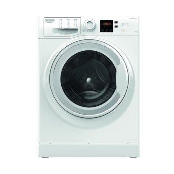 Пералня Hotpoint-Ariston NS 823C W EU, клас A+++, 8 кг. капацитет на пране, 1200 оборота в минута, свободностояща, 60cm. ширина, 16 програми, отложен старт, бяла image