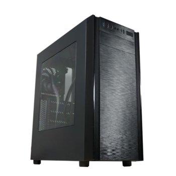 Кутия Segotep X1 ATX Mid Tower, ATX/mATX/ITX, 1х USB 3.0, черна, без захранване image