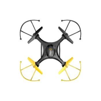 Дрон National Geographic, 6 минути полет, до 120 метра, черен и жълт image
