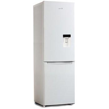 Хладилник с фризер Arielli ARF-250D, клас А+, 224 л. общ обем, свободностоящ, 234 kWh годишно разход на енергия, диспенсър за вода, автоматично размразяване, бял image