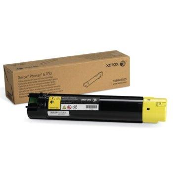Касета за Xerox Phaser 6700 - Yellow - P№ 106R01513 - 5 000к image