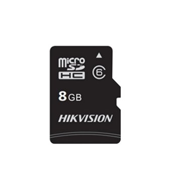 Карта памет 8GB microSDHC, HIkVision HS-TF-C1(STD)/8G, Class 10, с адаптер, скорост на четене 45MB/s, скорост на запис 10MB/s image