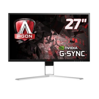 "Монитор AOC AGON AG271QG, 27.5"" (69.58 cm), IPS LED, WQHD, 4ms, 20 M :1, 350cd/m2, HDMI, DisplayPort image"