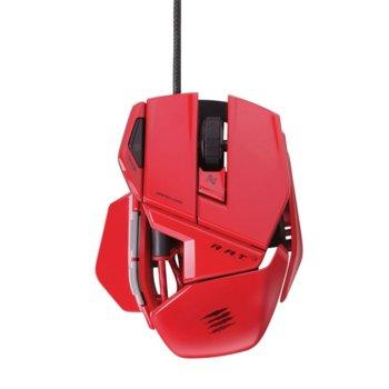Mad Catz R.A.T. 3, лазерна, USB, червена product