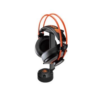 Стойка за слушалки Cougar Bunker S RGB, черна image