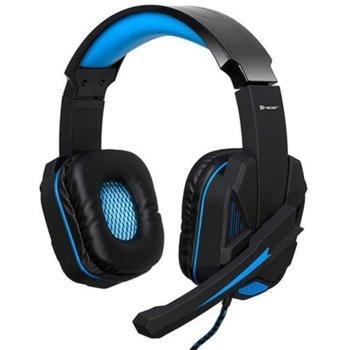 Слушалки Tracer Xplosive BATTLE HEROES BLUE, микрофон, сини/черни image