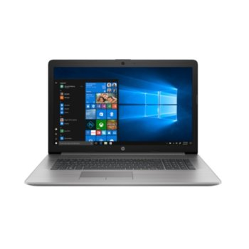 "Лаптоп HP 470 G7 (2D210ES), четириядрен Comet Lake Intel Core i5-10210U 1.6/4.2 GHz, 17.3"" (43.94 cm) Full HD Anti-Glare Display & Radeon 530 2GB, (HDMI), 8GB DDR4, 512GB SSD, 2x USB 3.1, Free DOS image"