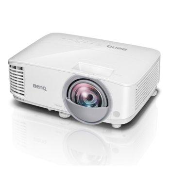 Проектор BenQ MW809ST, DLP, 3D, WXGA (1280x800), 12000:1, 3000 lm, HDMI, VGA, USB image