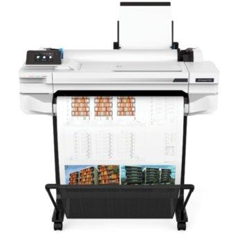 Плотер HP DesignJet T530 24-in, 2400 x 1200 dpi, 1GB памет, USB, A4 image
