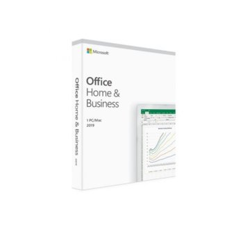 Софтуер Microsoft Office Home and Business 2019, EuroZone, за 1 потребител, български език image