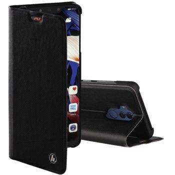 Калъф за Huawei Mate 20 Lite, синтетичен, HAMA Slim Pro, черен image
