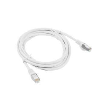 Пач кабел Lanberg PCF5-10CC-0200-W, FTP, cat.5e, 2м, бял image